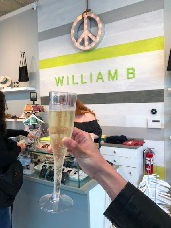 William B. - Offering Wine in Store