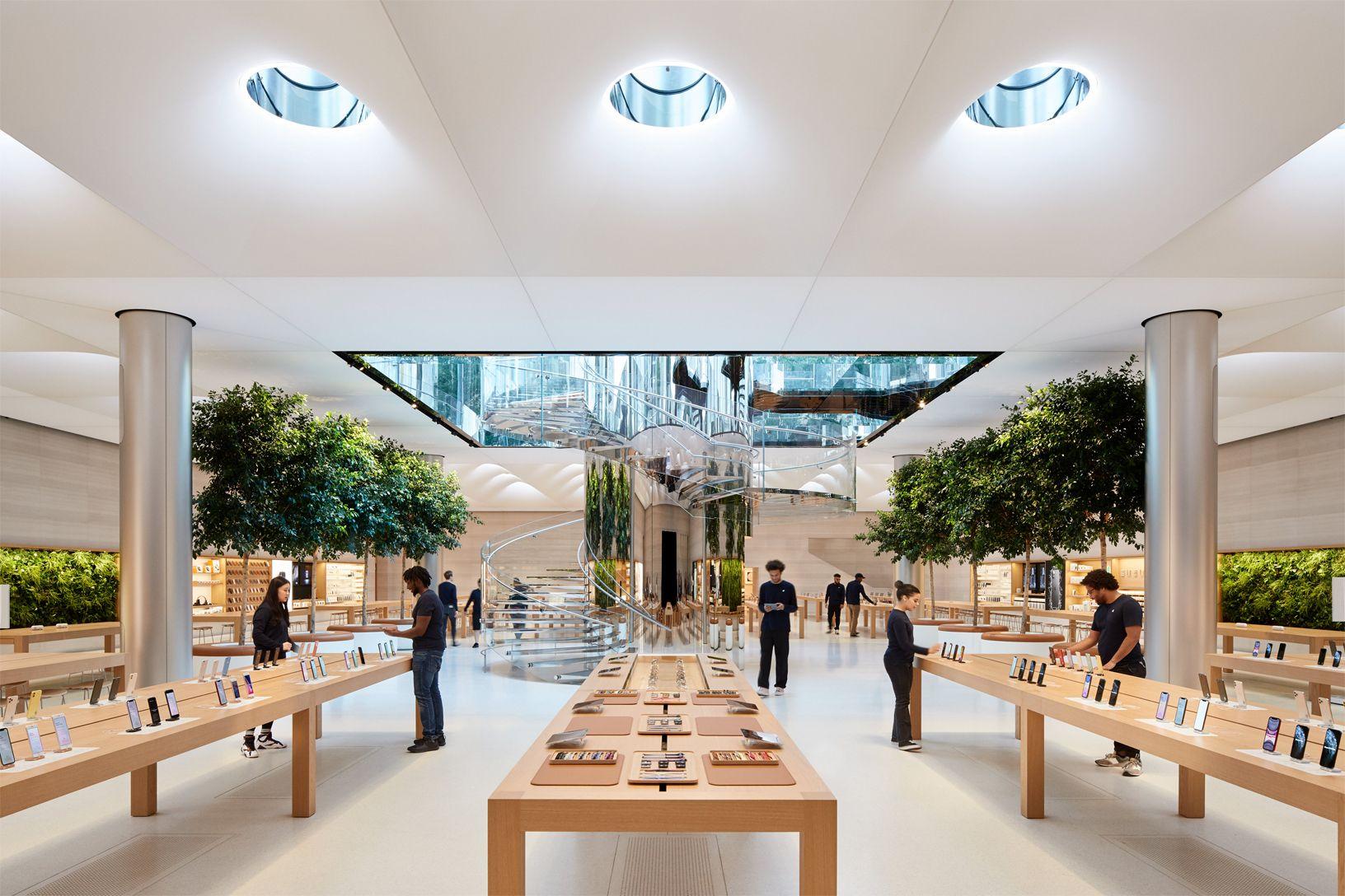 apple store retail design