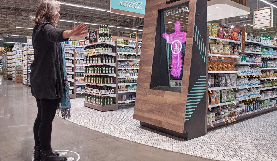 digital signage supermarket