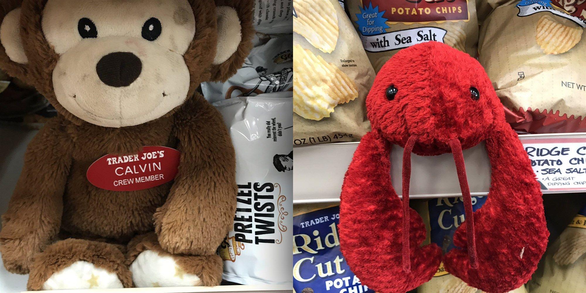trader joes stuffed animals